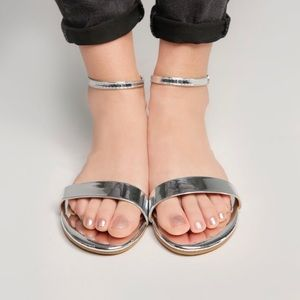 Shoes - Buckle up flats